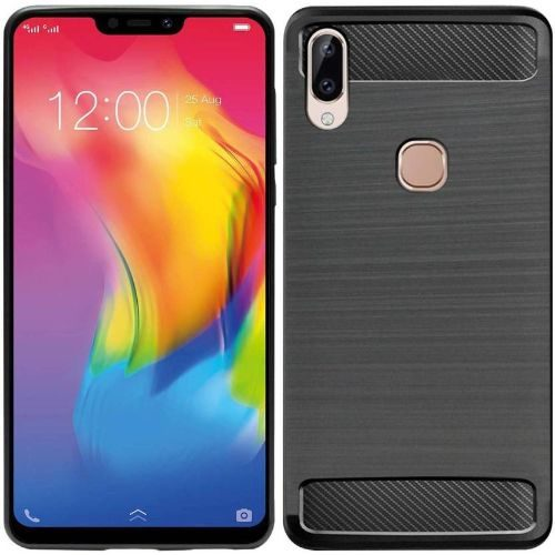 Vivo Y83 Pro Hybrid Soft Black Cover 1