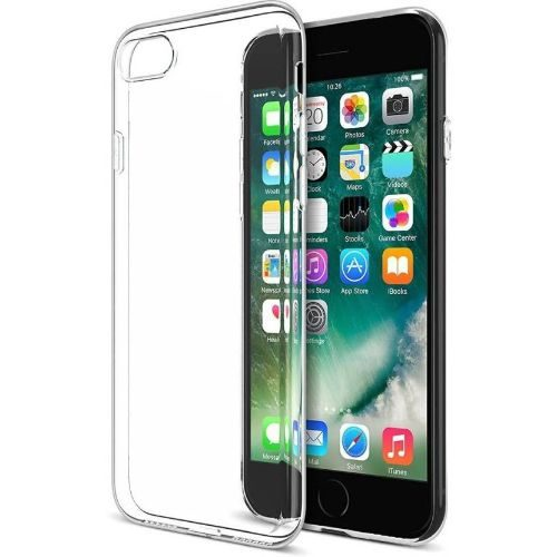Apple iPhone 7 Transparent Soft Back Cover Case 1