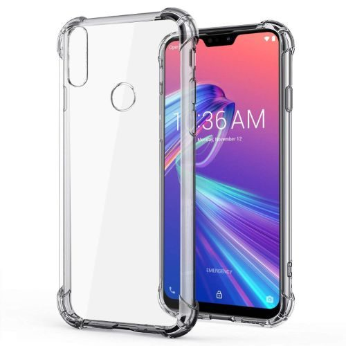 Asus Zenfone Max Pro M2 Transparent Soft Back Cover Premium 1