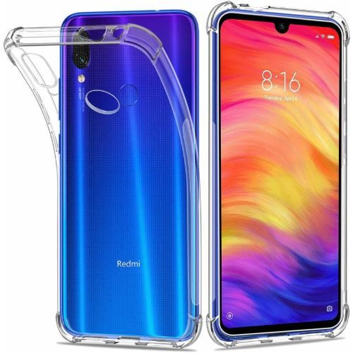 Redmi Note 7 Transparent Soft Back Cover Premium 1