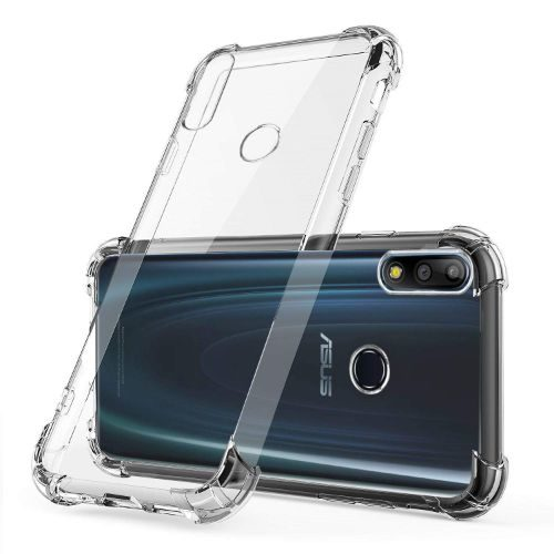 Asus Zenfone Max Pro M2 Transparent Soft Back Cover Case Premium 1