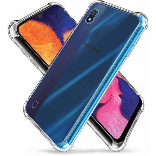 Samsung Galaxy A10 Transparent Soft Back Cover Case Premium 1