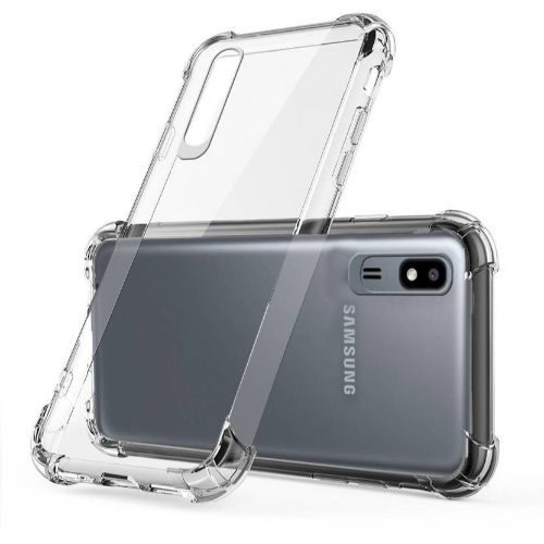 Samsung Galaxy A2 Core Transparent Soft Back Cover Case 1