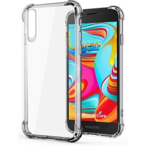Samsung Galaxy A2 Core Transparent Soft Back Cover Case 1