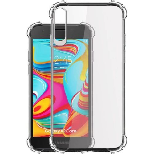 Samsung Galaxy A2 Core Transparent Soft Back Case Premium 1