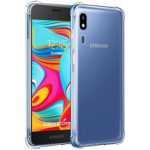 Samsung Galaxy A2 Core Transparent Soft Back Cover Case Premium 1