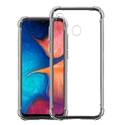 Samsung Galaxy A20 Transparent Soft Back Case Premium 1