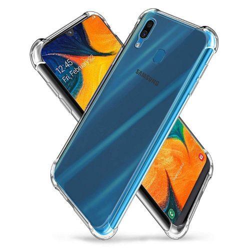 Samsung Galaxy A30 Transparent Soft Back Cover Premium 1