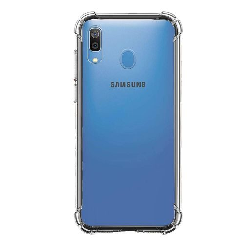 Samsung Galaxy A30 Transparent Soft Back Cover 1