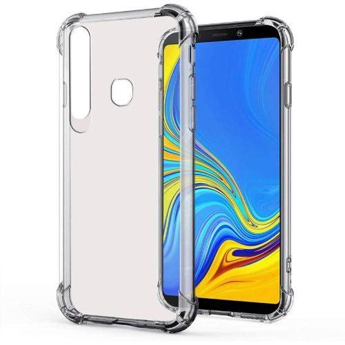 Samsung Galaxy A9 2018 Transparent Soft Back Cover Case 1
