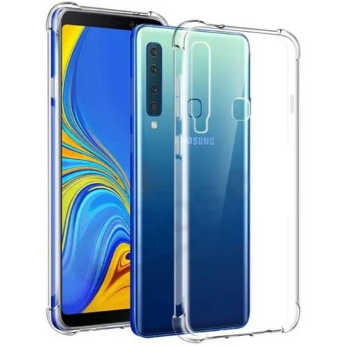 Samsung Galaxy A9 2018 Transparent Soft Back Cover Case Premium 1