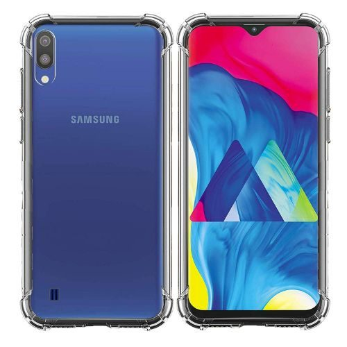 Samsung Galaxy M10 Transparent Soft Back Cover Case 1