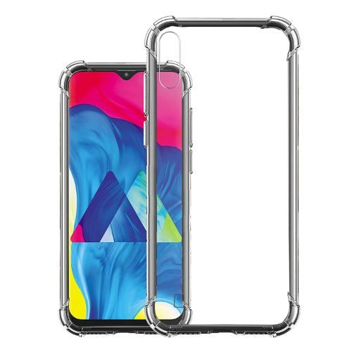 Samsung Galaxy M10 Transparent Soft Back Case 1