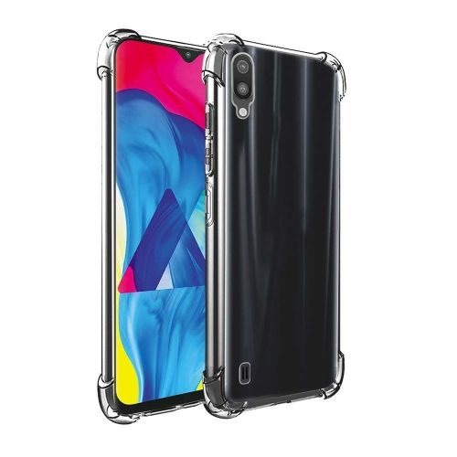 Samsung Galaxy M10 Transparent Soft Back Case Premium 1