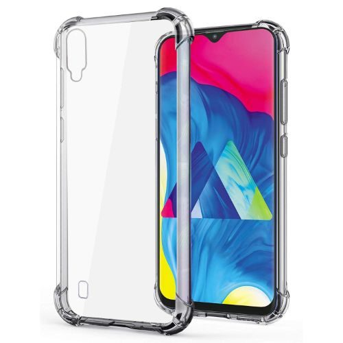 Samsung Galaxy M10 Transparent Soft Back Cover Case Premium 1