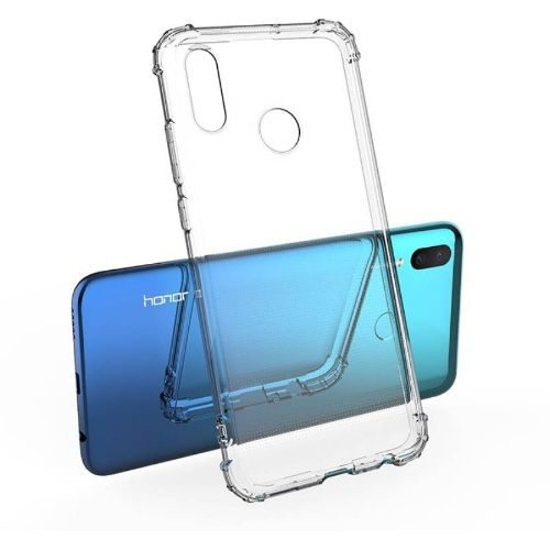 Honor 10 Lite Transparent Soft Back Cover Case Premium 1