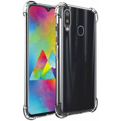 Samsung Galaxy M20 Transparent Soft Back Cover Case 1