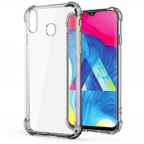 Samsung Galaxy M20 Transparent Soft Back Cover Case Premium 1