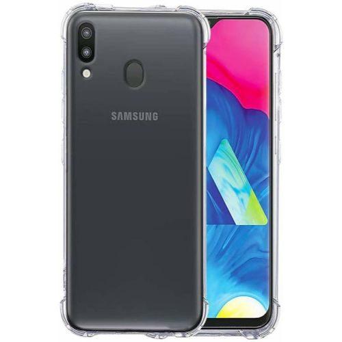 Samsung Galaxy M20 Transparent Soft Back Cover Premium 1