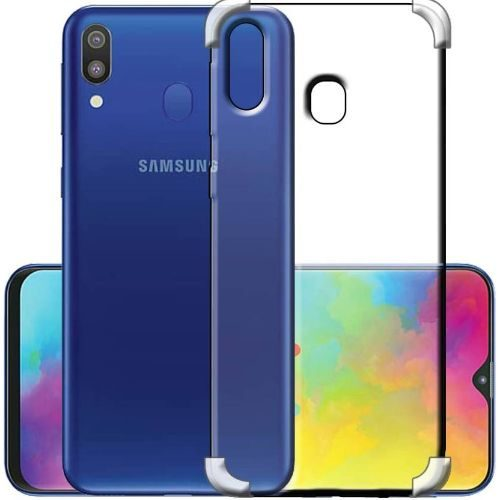 Samsung Galaxy M20 Transparent Soft Back Case Premium 1