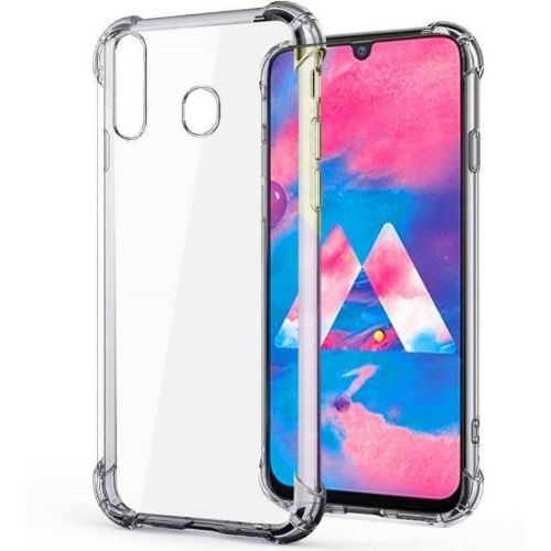 Samsung Galaxy M30 Transparent Soft Back Cover Case 1