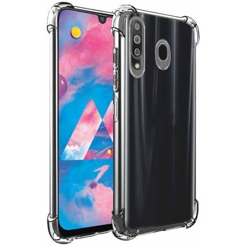 Samsung Galaxy M30 Transparent Soft Back Cover Case Premium 1