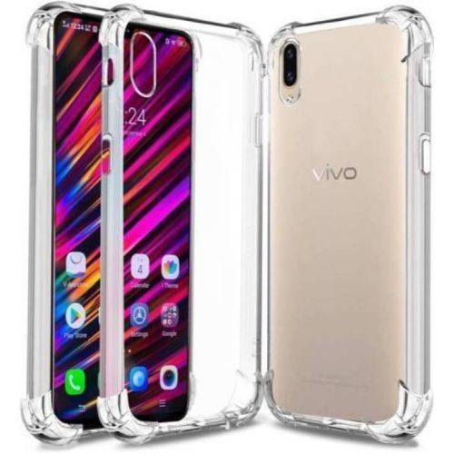 Vivo V11 Pro Transparent Soft Back Cover Case 1