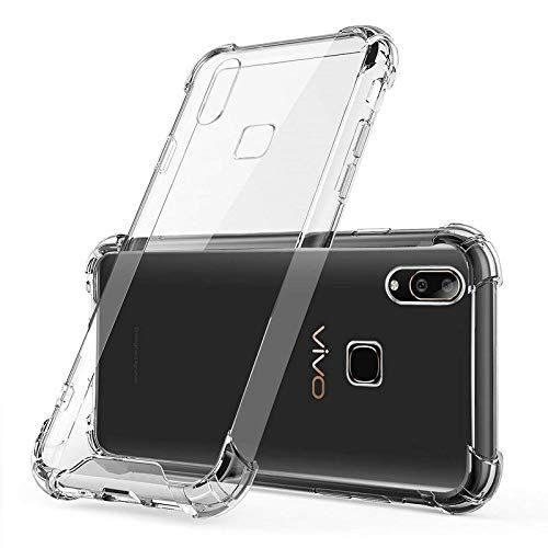 Vivo V11 Transparent Soft Back Cover Case 1