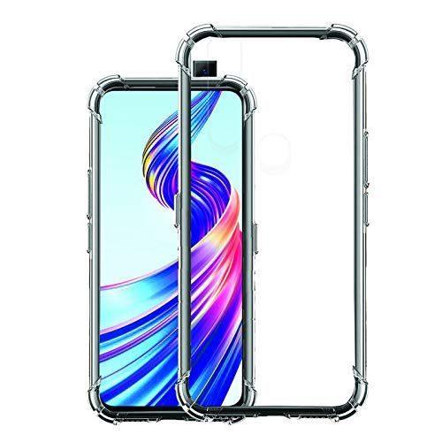Vivo V15 Transparent Soft Back Cover Case 1