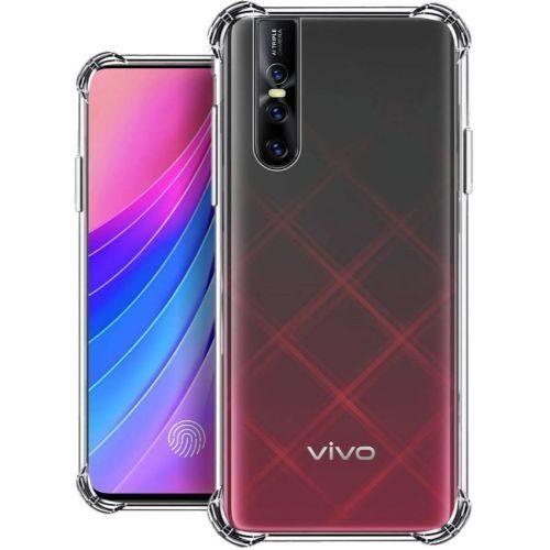 Vivo V15 Pro Transparent Soft Back Cover Case 1