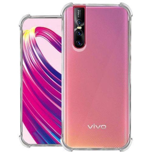 Vivo V15 Pro Transparent Soft Back Cover Premium 1