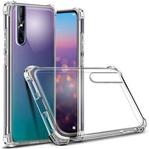 Vivo V15 Pro Transparent Soft Back Cover Case Premium 1