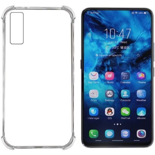 Vivo V15 Transparent Soft Back Cover Premium 1