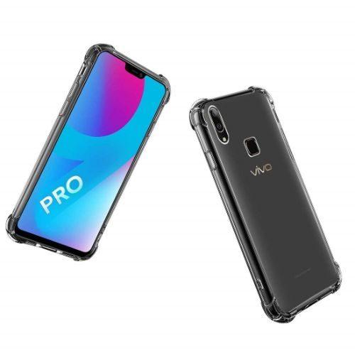 Vivo V9 Pro Transparent Soft Back Cover Case 1