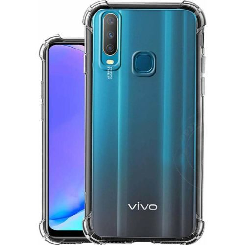 Vivo Y17 Transparent Soft Back Cover Case Premium 1