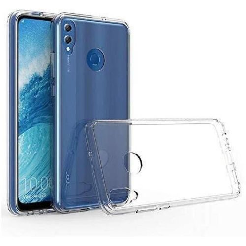 Honor 8C Transparent Soft Back Cover Case 1
