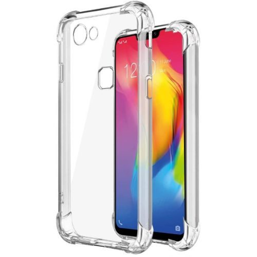 Vivo Y81 Transparent Soft Back Cover Case 1