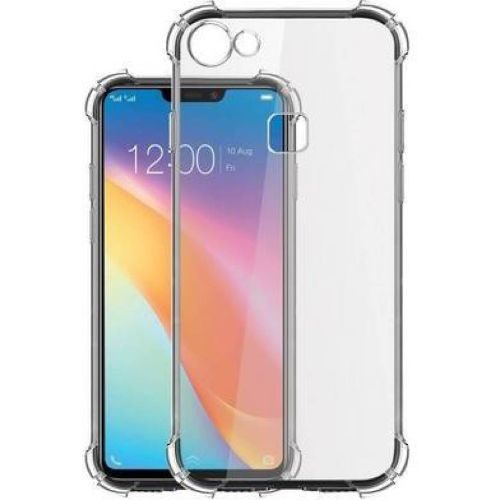 Vivo Y81 Transparent Soft Back Cover Case Premium 1