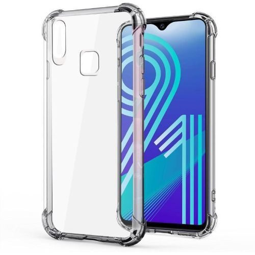 Vivo Y91 Transparent Soft Back Cover Case 1
