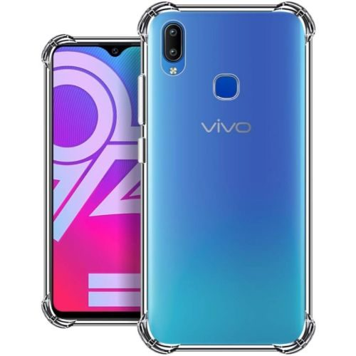 Vivo Y93 Transparent Soft Back Cover Case 1