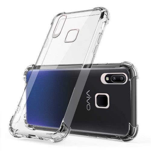 Vivo Y95 Transparent Soft Back Cover Premium 1