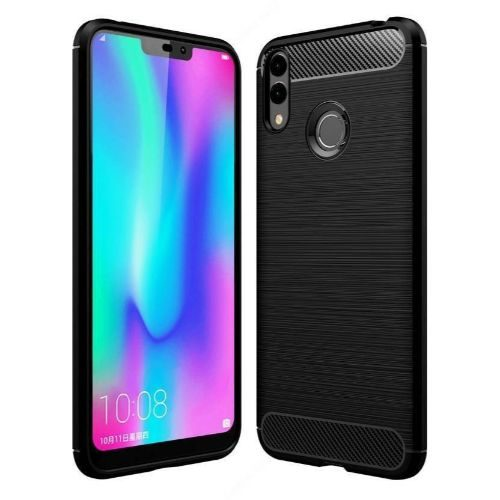 Honor 8C Back Soft Black Hybrid Cover 1