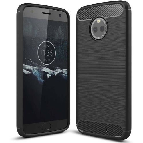Motorola Moto X4 Back Soft Black Hybrid Cover Case Premium 1