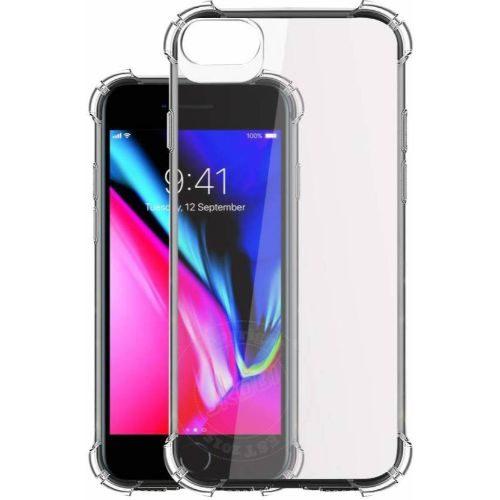 Apple iPhone 8 Transparent Soft Back Cover Case 1