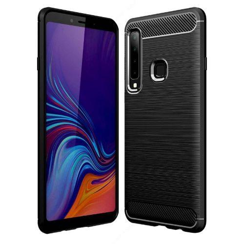 Samsung Galaxy A9 2018 Back Soft Black Hybrid Cover Case 1