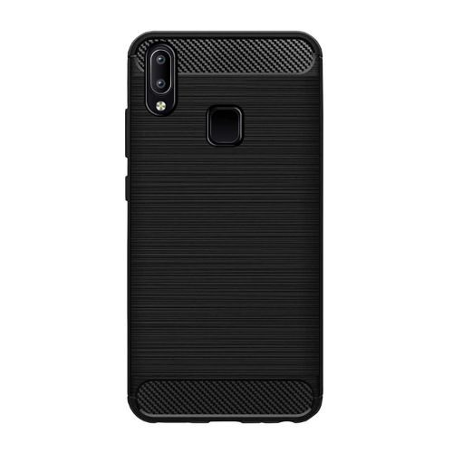 VIVO Y93 Back Soft Black Hybrid Cover Case Premium 1