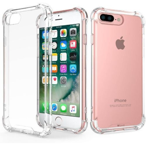 Apple iPhone 8 Transparent Soft Back Cover Case 1