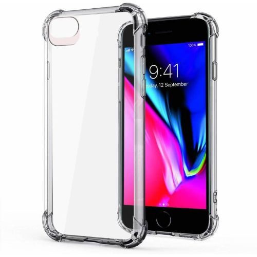 Apple iPhone 8 Transparent Soft Back Cover Case Premium 1