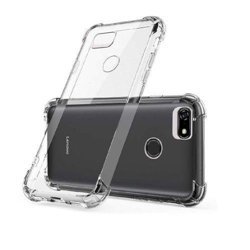 Lenovo A5 Transparent Soft Back Cover Case 1