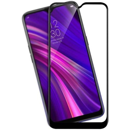 Realme 3 Pro Tempered Glass Full Glue Black 1